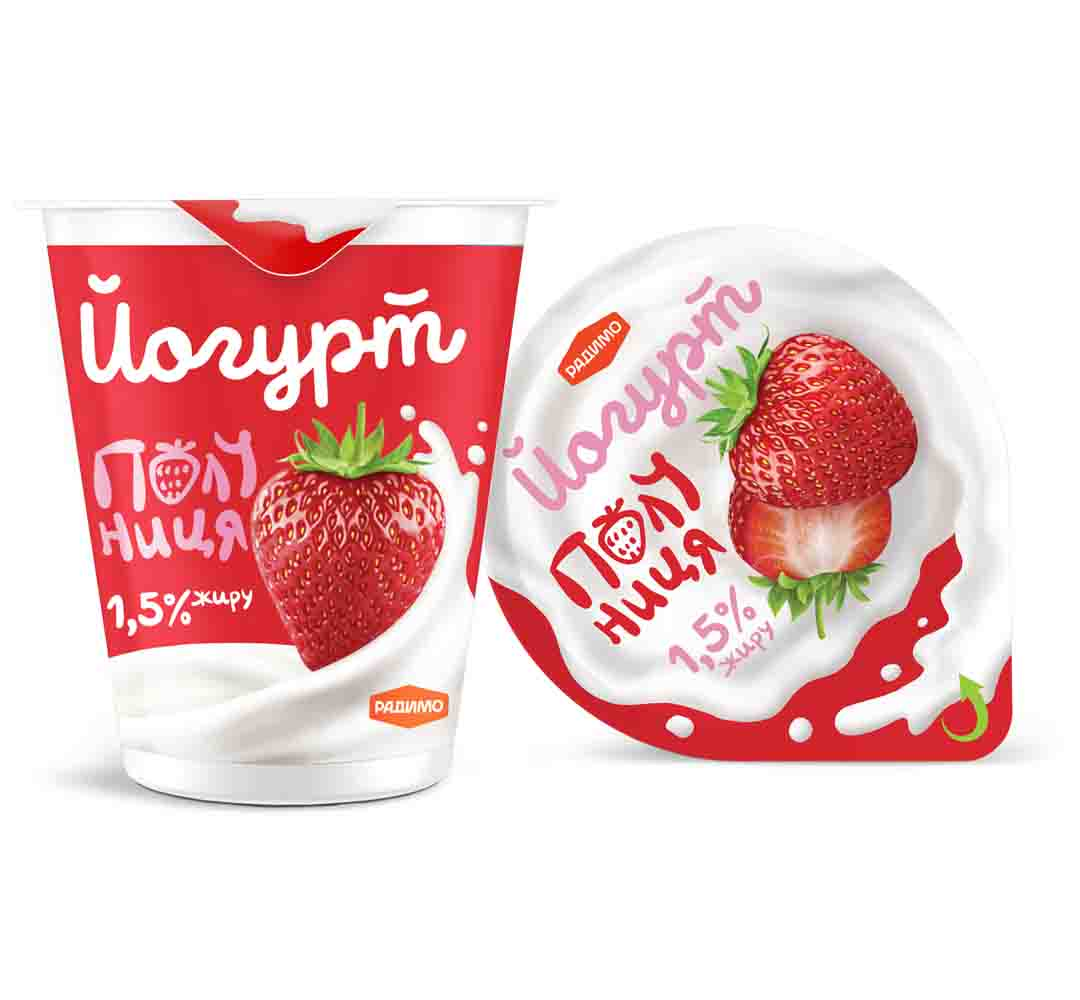 Йогурт Полуниця