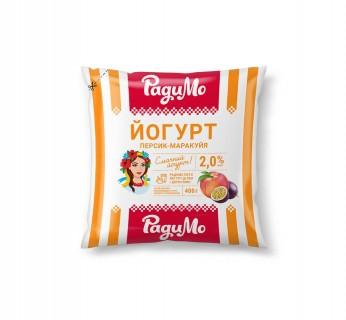 Йогурт Персик-Маракуйя