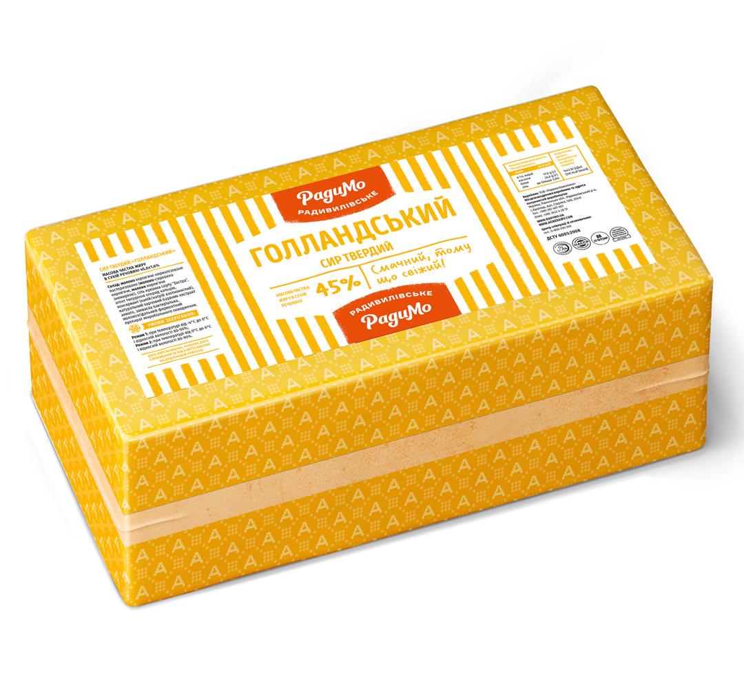 Сир твердий Голландський