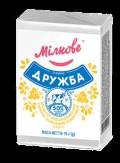 Продукт молоковмісний сирний плавлений скибковий «Дружба»