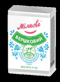 Продукт молоковмісний сирний плавлений скибковий «Вершковий»