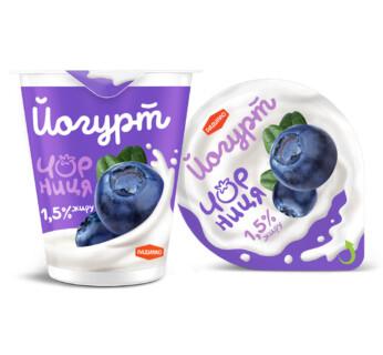 Йогурт Чорниця